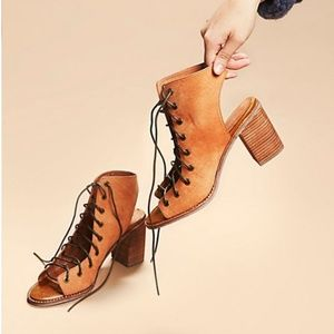 Jeffery Campbell for Free People lace up sandle